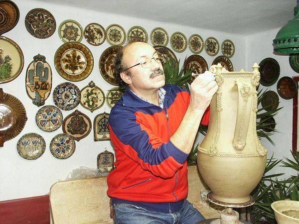 Gonda István fazekas, népi iparművész - Mezőtúr - Alföld. Hungary