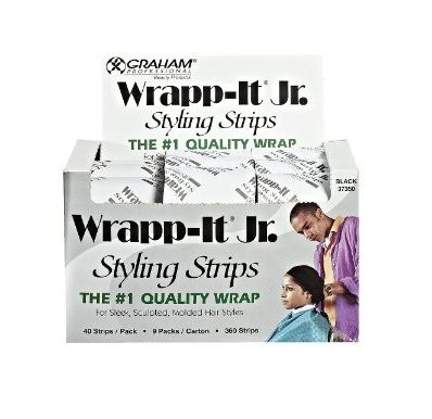 Graham Sanek Wrapp-It Jr. Styling Strips (9 Packs/Box) - Black $10.00 White $8.00 Visit BarberSalon.com One stop shopping for Professional Barber Supply, Salon Supply, Hair & Wigs, Professional Product, Nail Supply. GUARANTEE LOW PRICES!!! #barbersupply #barbersupplies #salonsupply #salonsupplies #beautysupply #beautysupplies #hair #wig #deal #promotion #andis #wahl #oster #clipper #trimmer #blacksolutions #elegance #shavingrazors #shavingblades #filarmonica #hairdryers #clubman #xfusion