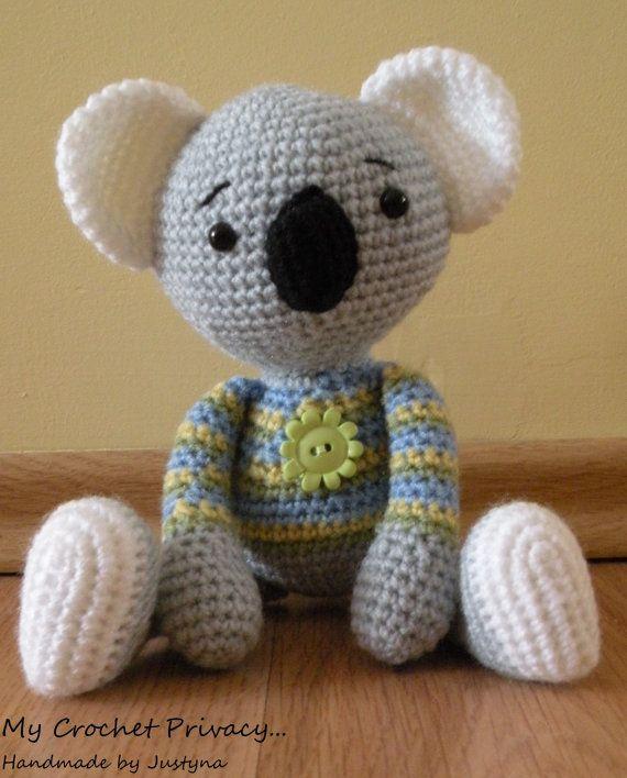 Patron Amigurumi De Koala : 330 mejores imagenes sobre AMIGURUMI en Pinterest Patron ...