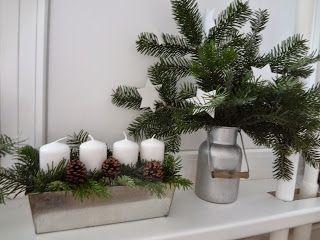 Kámen úrazu: Bílé Vánoce - i bez sněhu ;) / white christmas candlestick