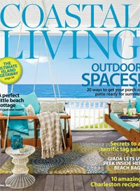 Coastal Living April 2012 - Outdoor Spaces!  See our ad for reader specials.