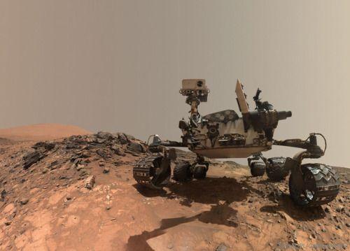 Curiosity Rover Takes Selfie on Mars  via NASA...