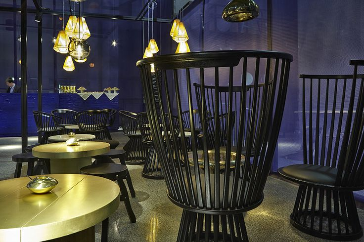"""""""Rough and Smooth"""" by Tom Dixon."""