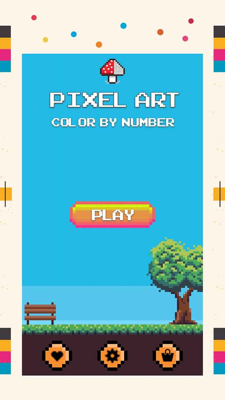 Pixel Coloring is now easy for everyone and we provide all features ...