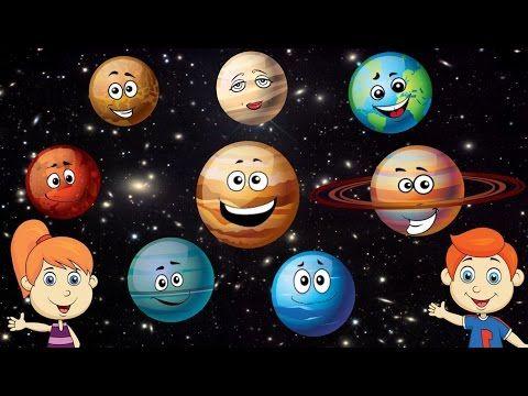 Canción de los planetas para niños - YouTube