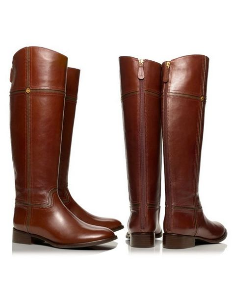 Juliet Riding Boot by Tory Burch