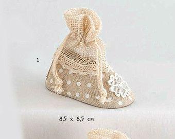 Victorian Girl baptism favors box Vintage lace Bomboniere