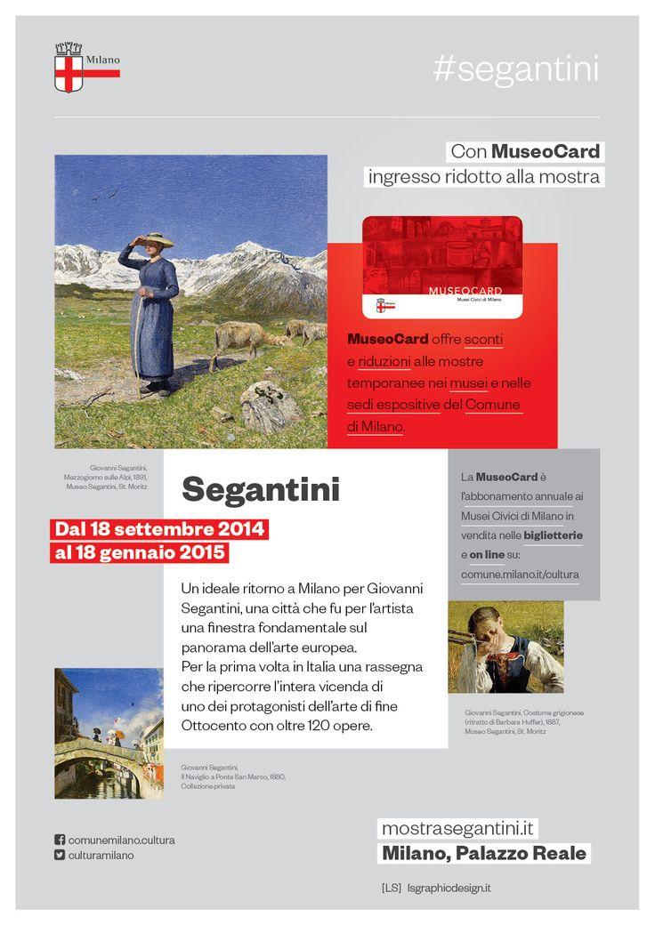#SegantiniMI a #PalazzoReale con #MuseoCard hai la riduzione alla mostra www.mostrasegantini.it