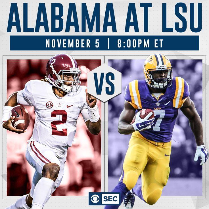 Alabama vs LSU #Alabama #RollTide #Bama #BuiltByBama #RTR #CrimsonTide #RammerJammer #BAMAvsLSU