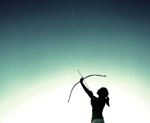 Katniss of District 12 by ~sylverwiings