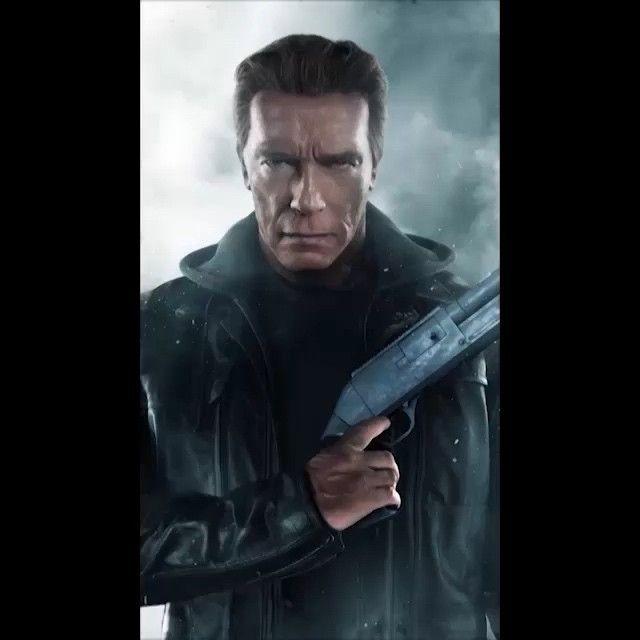 He's back! Watch the Terminator return on July 3 in 3D! #TerminatorGenisys #ArnieFans #ArnoldSchwarzenegger #Terminator #HeIsBack