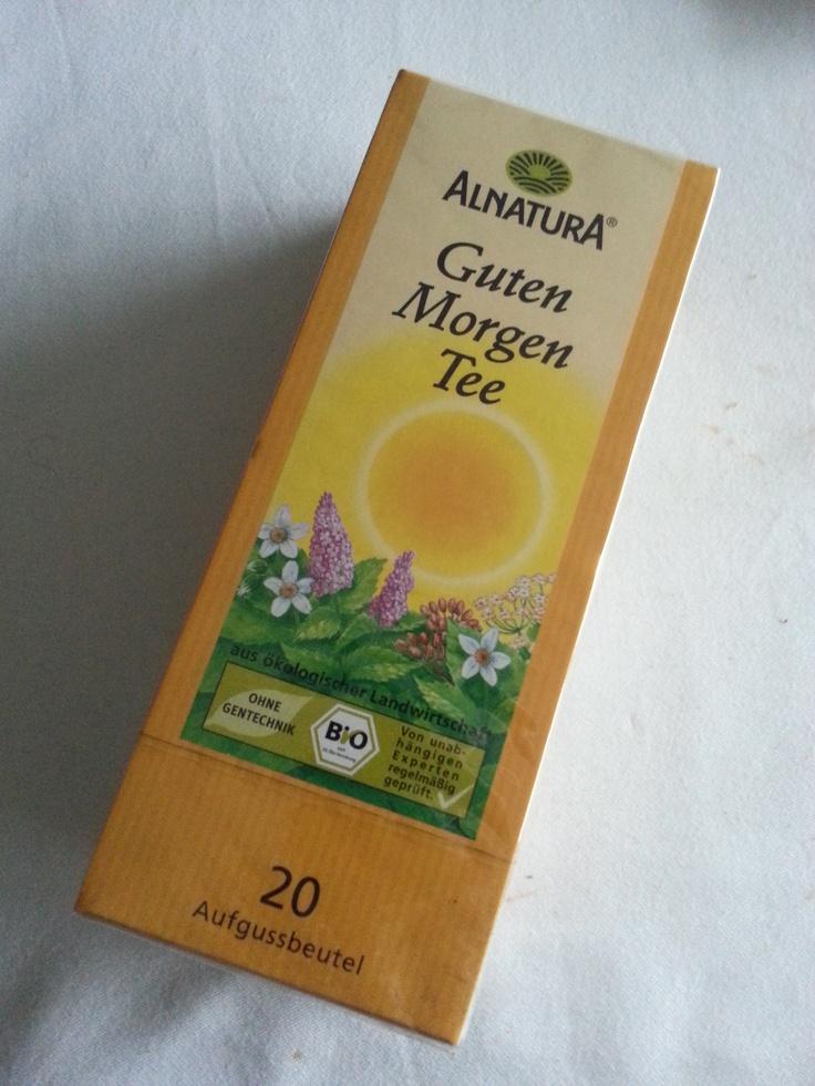 Guten Morgen Tee sorgt frühs für Wohlbefinden und Flüssigkeit, welches wichtig für die Haut ist.