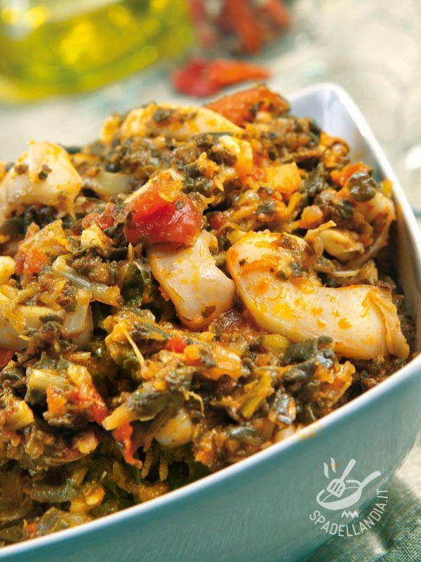 Cuttlefish zimino with beets - Le Seppie in zimino con bietole sono un piatto famosissimo in tutto il mondo della cucina del Belpaese. Non tramonta e non delude mai. E' irresistibile. #seppieinzimino