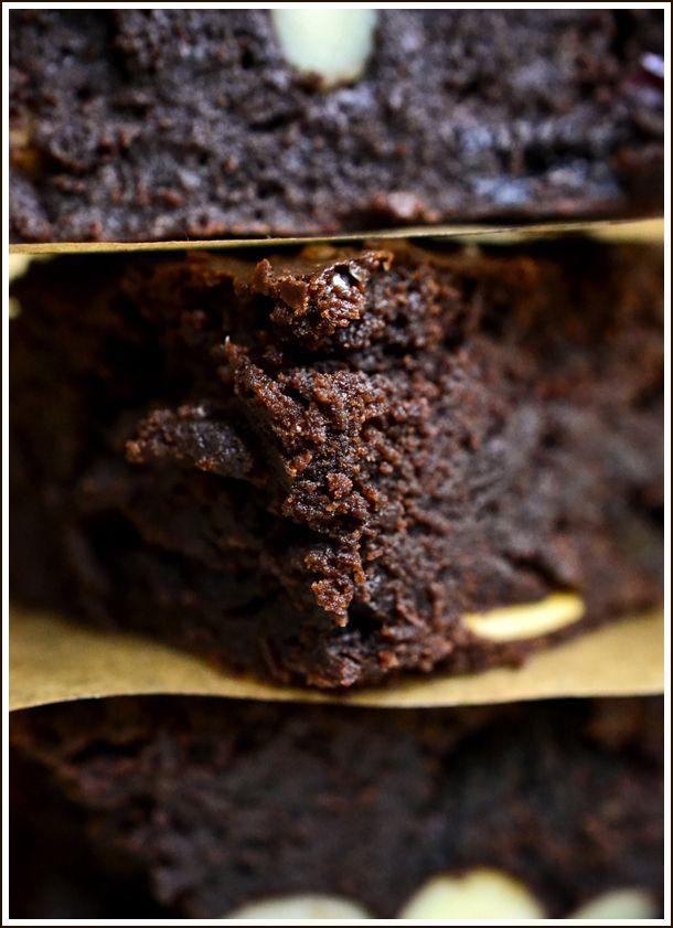 Meggyes brownie
