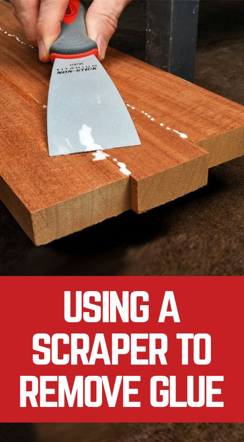 Trying to remove glue from wood can clog your sand paper. Using a scraper is a great alternative to sandpaper to remove excess glue from glue-up projects. George Vondriska demonstrates how to use a scraper to remove excess glue from your woodworking projects. A WoodWorkers Guild of America (WWGOA) original video.