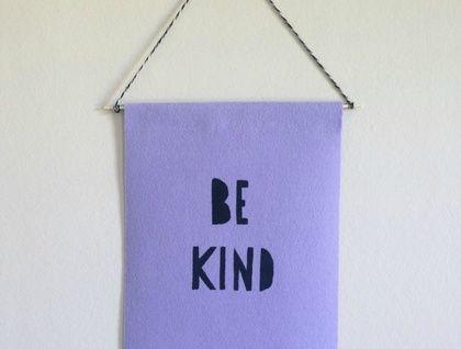 BE KIND Banner