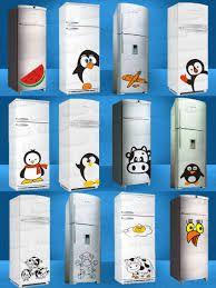 Resultado de imagem para geladeira plotada