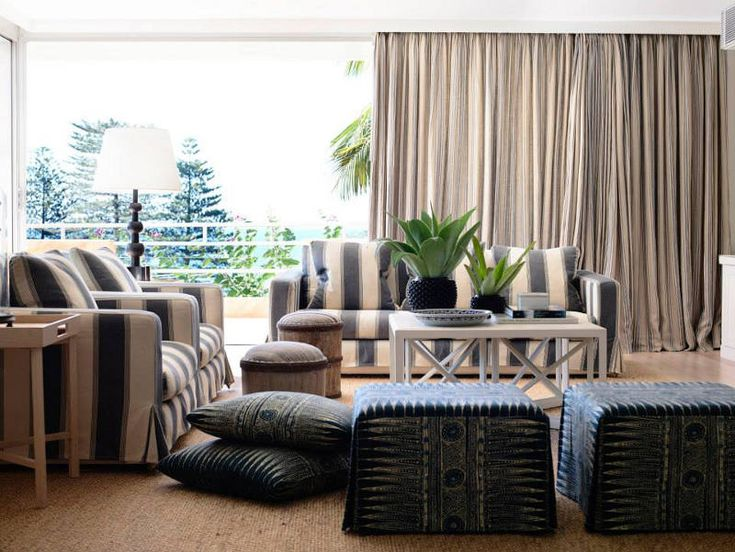 desire to inspire - those ottomans resemble a set of brown chairs I recently saw and drooled over in a magazine, I believe Elle Decor?