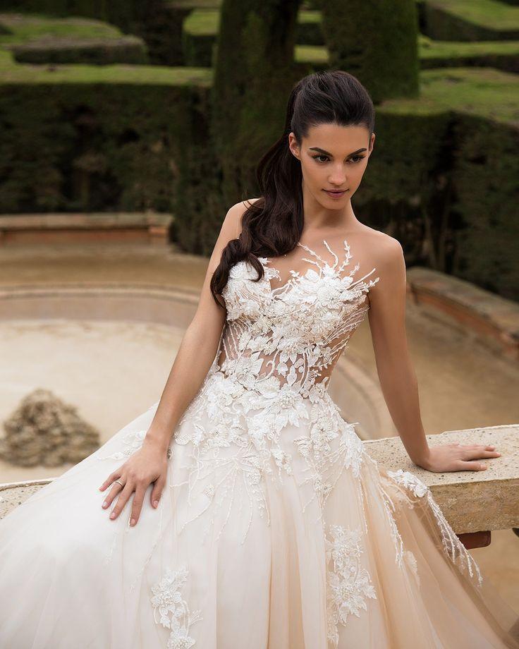 15 besten Milla Nova Wedding Dresses Bilder auf Pinterest   Kleid ...