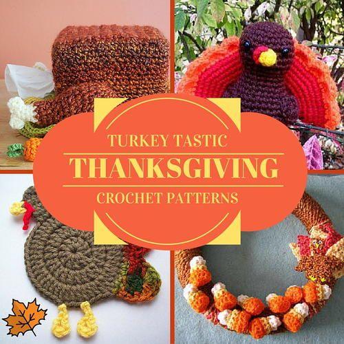 Turkey Tastic Thanksgiving Crochet Patterns