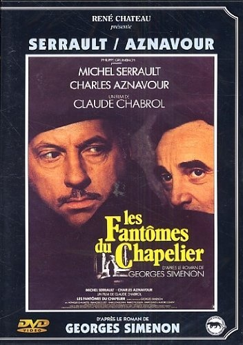 Les fantômes du chapelier DVD ~ Michel Serrault