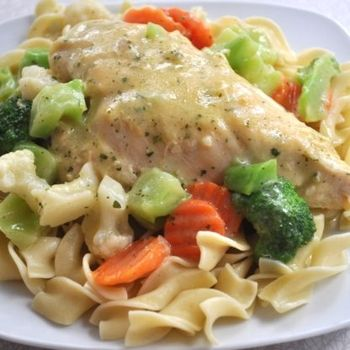 creamy chicken skillet from Southern Plate