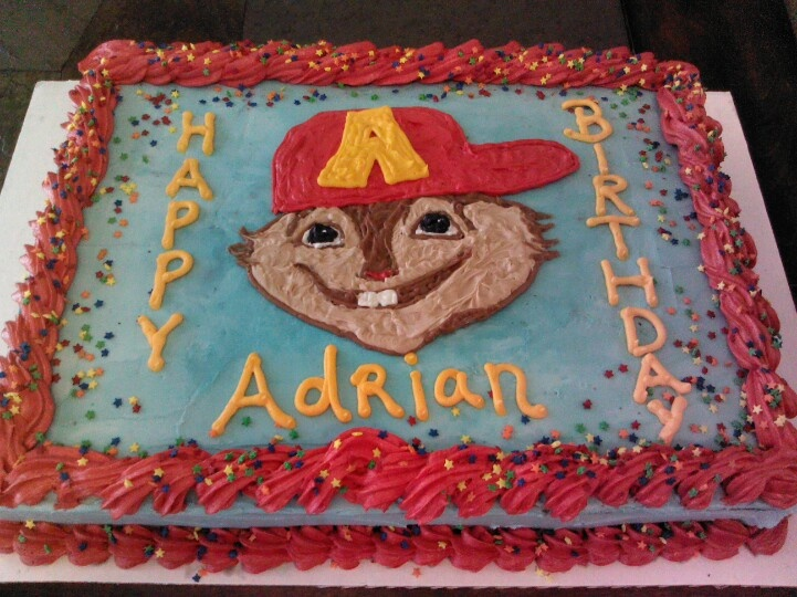 Alvin And The Chipmunks Birthday Cake: Alvin And The Chipmunks Birthday Cake