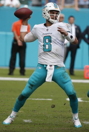 Dolphins' Jay Cutler likely to miss game with cracked ribs