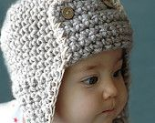 Items similar to Pilot Hat for 6 to 12 Months and 12 to 24 Months on Etsy