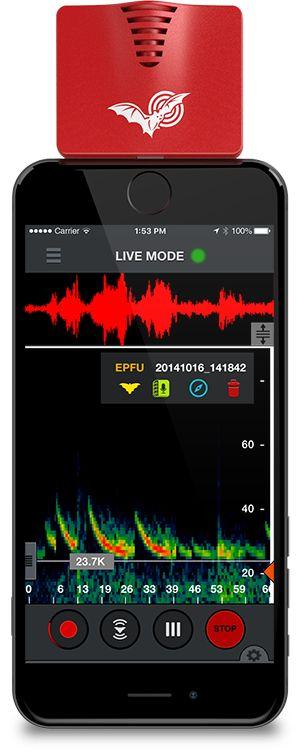 Echo Meter Touch 2 Handheld Bat Detector