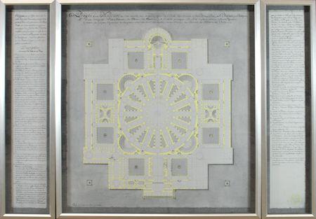 14913 - Projets D'un Museum Triptych - Yellow