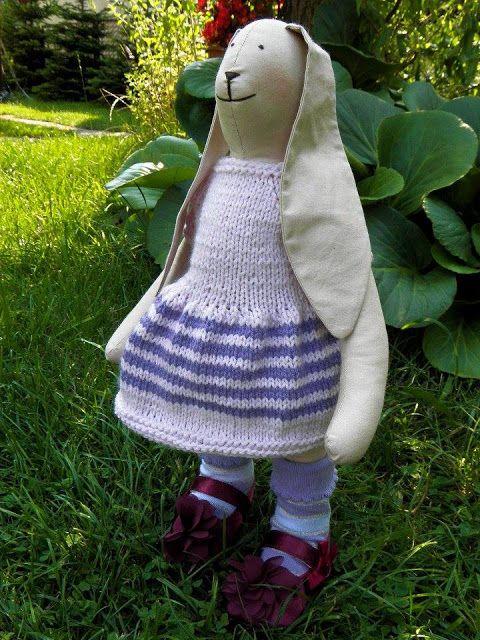 Lalki waldorfskie - LalaBella: Zające w kapuście