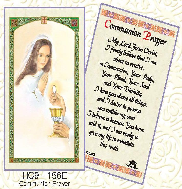 Communion Prayer - Girl Praying