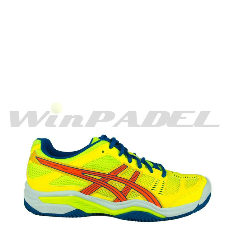 Zapatillas de pádel Asics Gel-Padel Competition SG en color amarillo. http://www.winpadel.com/zapatillas-de-padel/zapatillas-de-padel-asics-gel-padel-competition-sg-en-color-amarillo