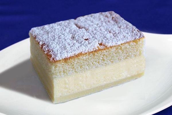 Receta del Bizcocho Mágico. Es de origen Rumano, su nombre original es Prajitura Desteapta que significa pastel inteligente. - BuenApetito!