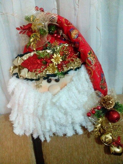 Cara de Santa para la puerta