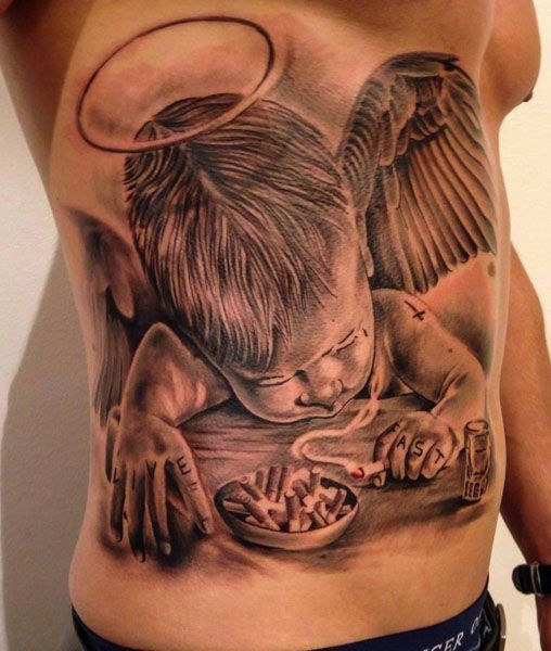 1000 Ideas About Angel Tattoo Designs On Pinterest: 46 Best Best Angels Tattoos In The World Images On