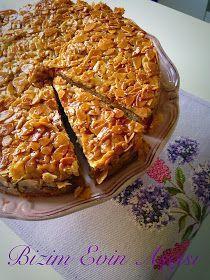 bizim evin aşçısı: Ballı Bademli Kek