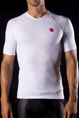 camiseta compresiva manga corta negra | Taymory