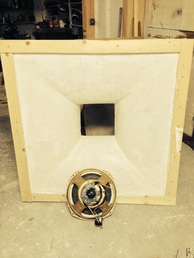 tannoy 15 front baffle horn 120 x 120 cm diy or i do it for you building a loudspeaker. Black Bedroom Furniture Sets. Home Design Ideas