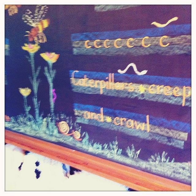Waldorf ~ 1st grade ~ Letter: C ~ Caterpillar