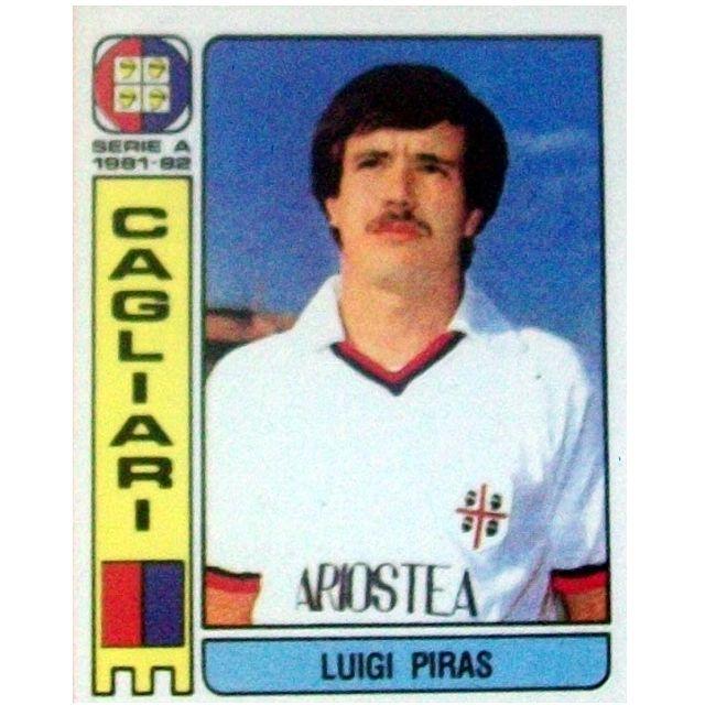 Luigi #Piras #Cagliari 1981/82