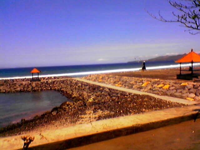 karangsem beach , bali