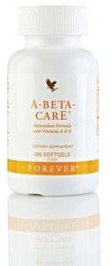 Forever A-Beta-Care is an essential formula with vitamins A (beta-carotene) and E, plus the antioxidant mineral selenium. Antioxidants are vital in the fight against free radicals http://theflpshop.com/a-beta-care/ #foreverlivingproducts