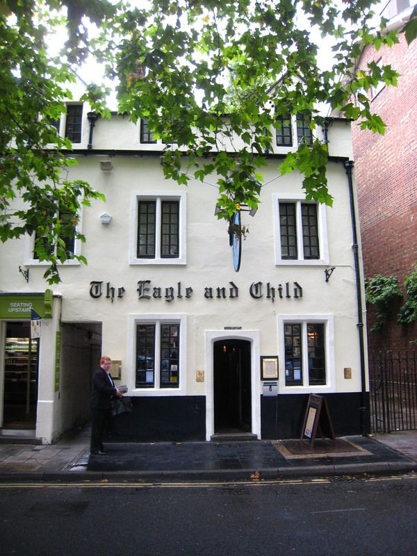 """The """"Inklings"""" frequently met at this Oxford pub to discuss the now legendary fantasy stories they were writing."""