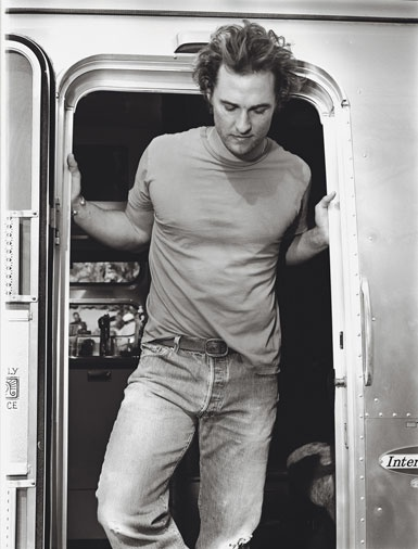 (A young) Matthew McConaughey
