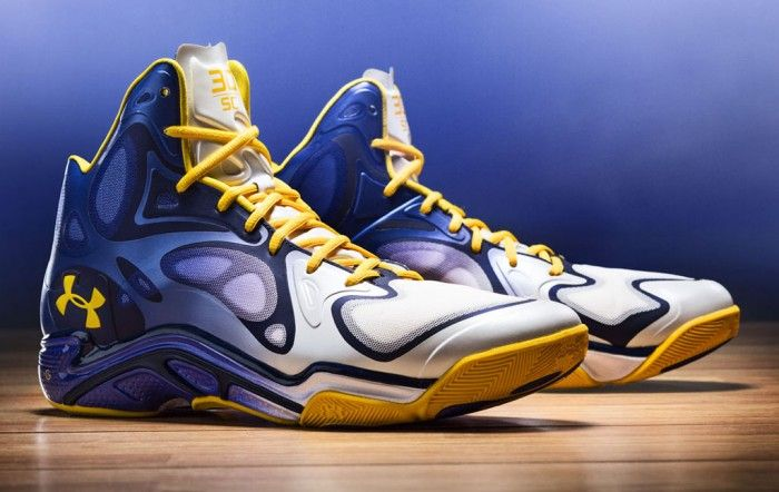 Stephen Curry's Under Armour Anatomix Spawn 'The Bay' PE ...