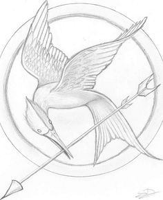 The Hunger Games - drawing #URL #hunger games