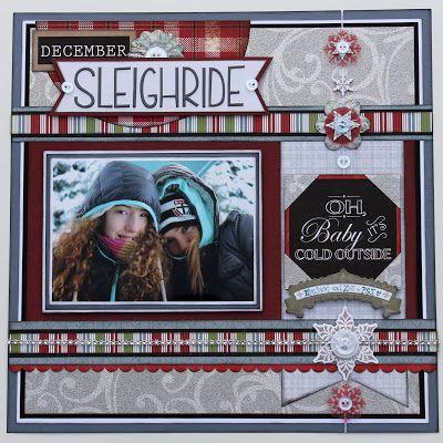 December Sleigh Ride...Winter Layout
