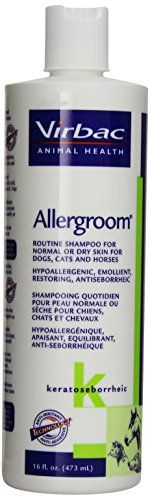 Virbac Allergroom Shampoo 16Ounce -- You can get more details by clicking on the image. (Note:Amazon affiliate link)